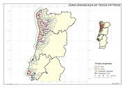 The above map, courtesy of the Portuguese Ministry of Agriculture, shows the spread of the African citrus psyllid.