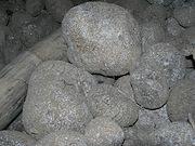 <P> Photo 1. Colonies of  the scale, <EM>Aspidiella hartii</EM>,<EM> </EM> increase&nbsp;on stored yams turning  them&nbsp;whitish-grey.</P>